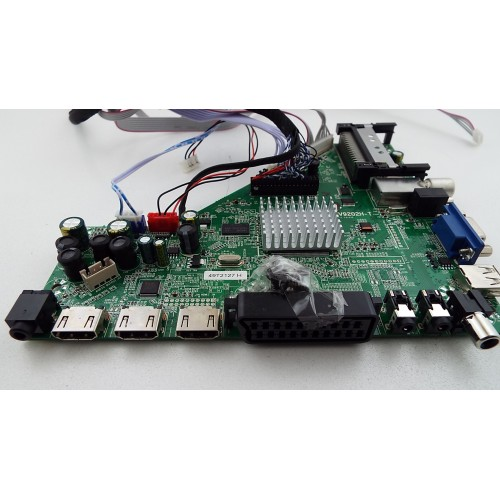 mainboard cv9202ht11 from cello ver3 50in led tv - 50in Tv